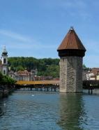 Wasserturm mit Kapellbrücke